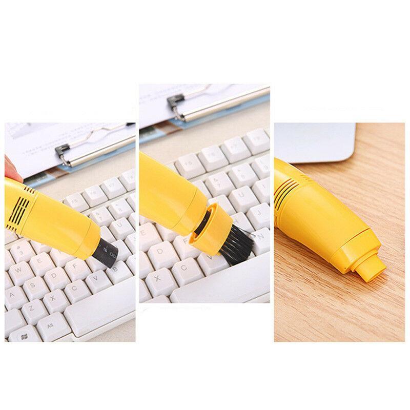 مصغرة توربو USB هوفر / مكنسة كهربائية نظيفة لأجهزة الكمبيوتر المحمول لوحة المفاتيح PC الكمبيوتر