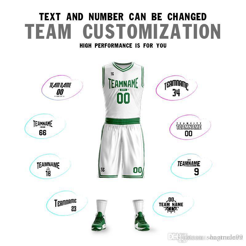 best cheap e72b0 fd28b Custom Basketball Suit Men and Women basketball jerseys Garnett 5 Ray Allen  20 Pierce Owen 11 Sports shirt Custom raining clothes