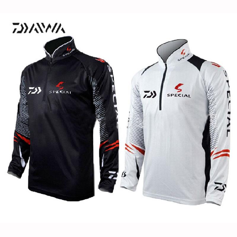 8bfa2936 2019 2017 Newest Brand Daiwa Fishing Clothing For Men Summer Breathable Dry Sun  UV Protection Sportswear Man Outdoor Fishing Shirts From Roadsun, ...