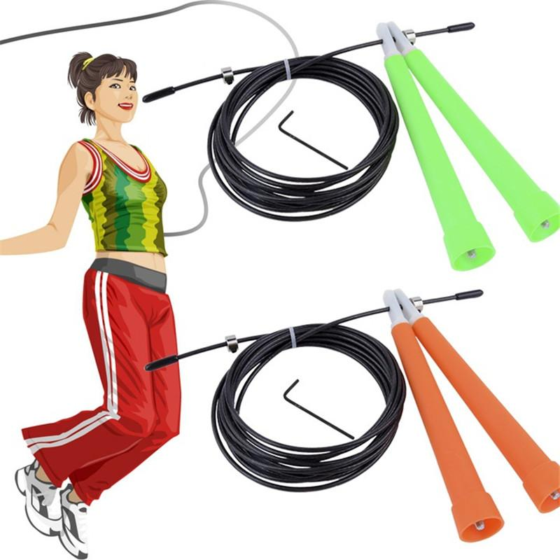 Crossfit Speed Jump Rope Professional Skipping Rope For Boxing Fitness Skip Workout Training With Carrying Bag Spare Cable