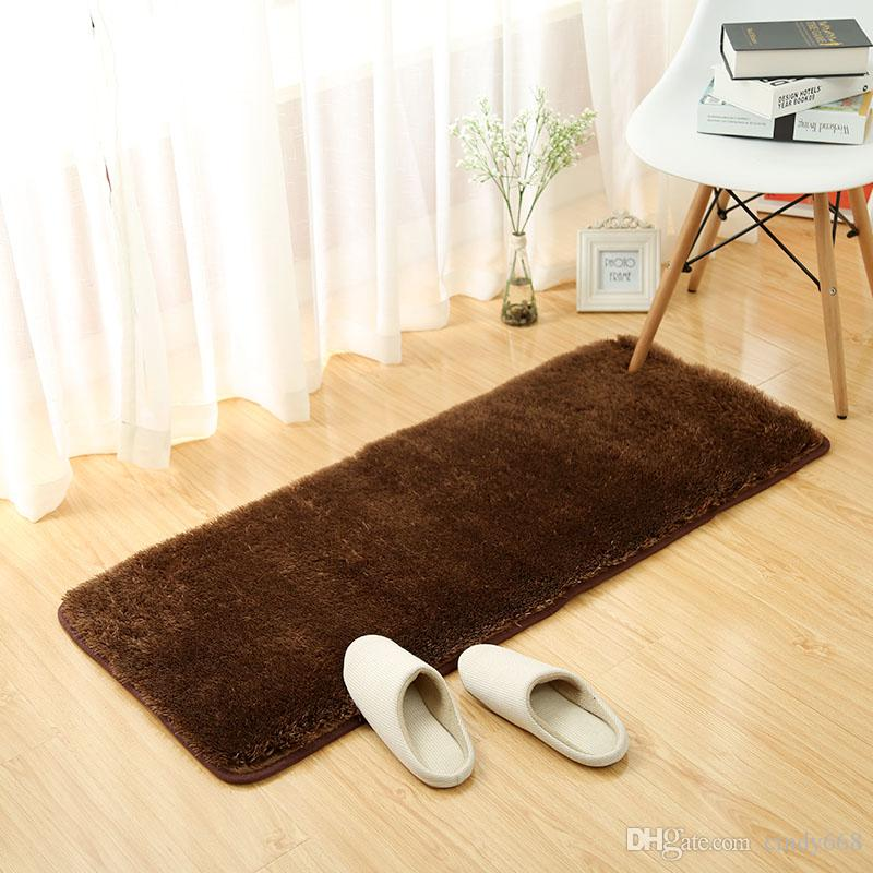 Washable Bathroom Floor Mat Blending Rug Set Floor Door Kitchen Bedroom Carpet Shower Room Rugs and mats Anti-slip Modern Carpet