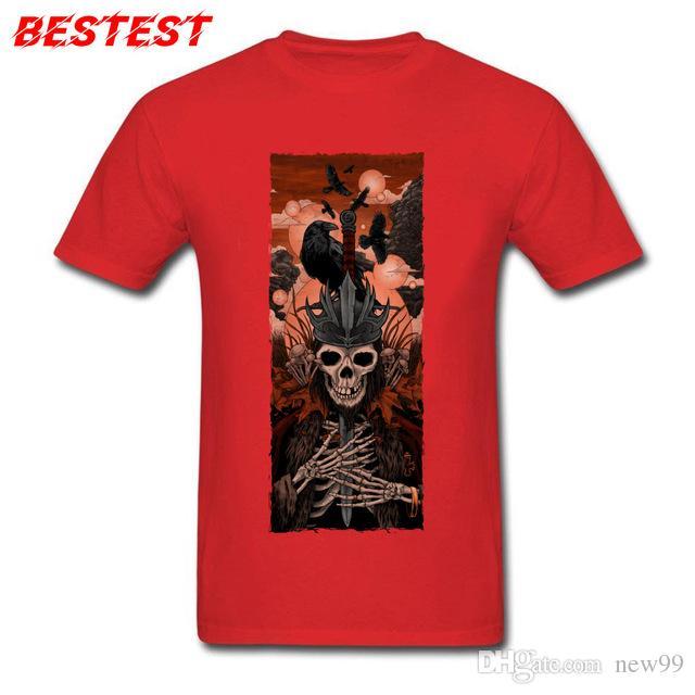 4b4597e3d8412 Compre Ropa De Diseño Para Hombre Marca Polo Camiseta Camiseta De Calaveras  Para Hombre Mentiras Pesadas La Corona Camisetas Camisa Manga Corta Zapatos  Al ...