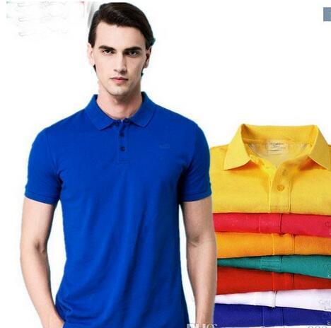 66b4a7079 Hot Sell New Logo 2019 Crocodile Embroidery Polo Shirt Men Short ...