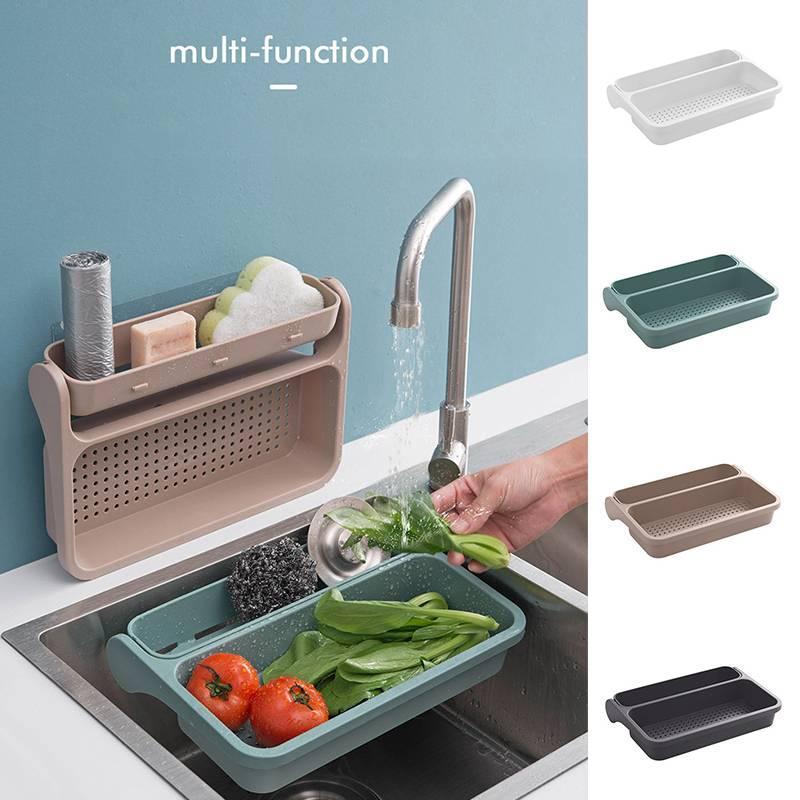 Kitchen Sink Sponge Holder.2019 Kitchen Sink Sponge Holder Storage Drainer Rack Strainer