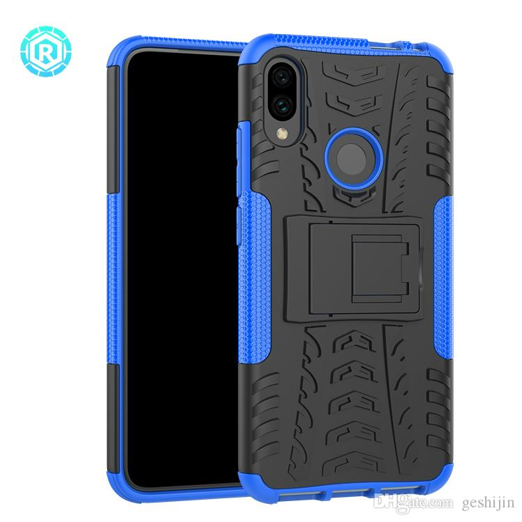 sports shoes 4b7d4 59d48 Protective Case Hybrid Anti Shockproof Kickstand Armor Mobile Cover For  Redmi note 7