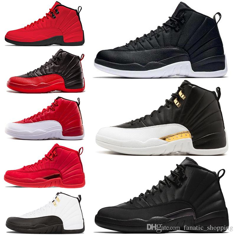 new concept 5efb2 bd366 Compre Zapatos De Baloncesto 12 12s Mens Gym Red Bulls TAXI The Master  Hyper Jade French Blue Flu Game Hombres Sport Sneakers 7 13 Envío Gratis A   91.94 Del ...