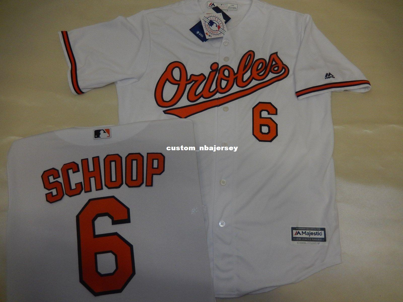 0572a36c4a85 2019 Cheap Custom JONATHAN SCHOOP Baseball JERSEY WHITE Stitched Customize  Any Name Number MEN WOMEN BASEBALL JERSEY XS 5XL From Custom nbajersey