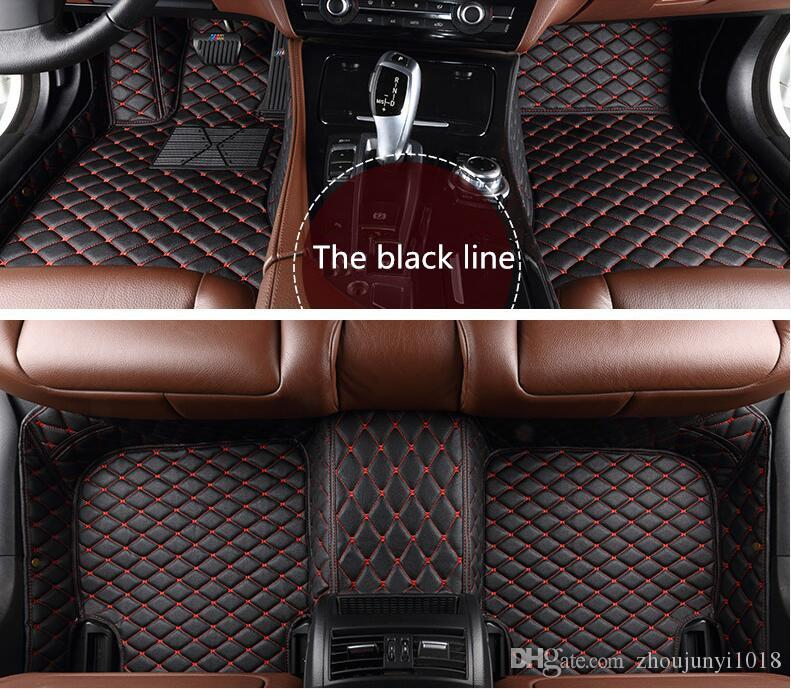 Applicable to 2006-2016 Mercedes M class 500 350 63 AMG 450 400 320 4MATIC car floor mat knitting logo free delivery