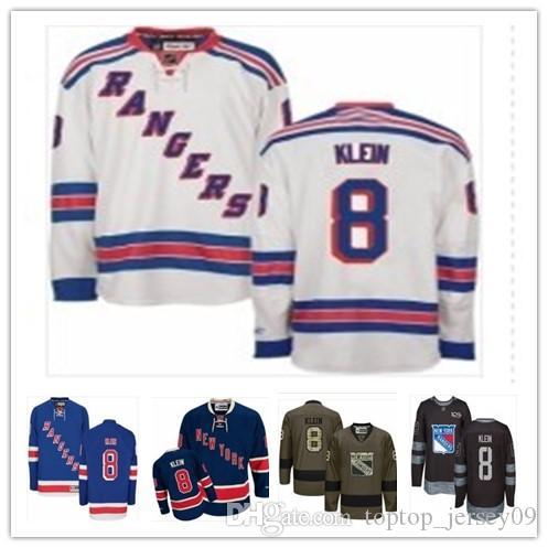 34a437d69 2018 New York Rangers Jerseys #8 Kevin Klein Jerseys Men#WOMEN#YOUTH ...
