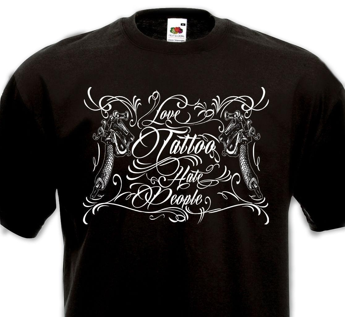 Compre Camiseta Amor Tatuaje Personas Del Odio Tatouage Old School