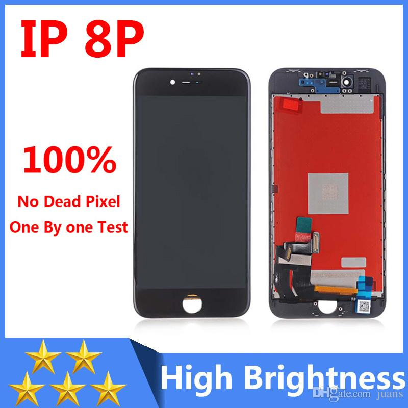 huge discount ab389 4cd4c 100% Good Quality for Iphone 8 Plus LCD Display Screen Replacement with 3D  Touch free dhl shipping