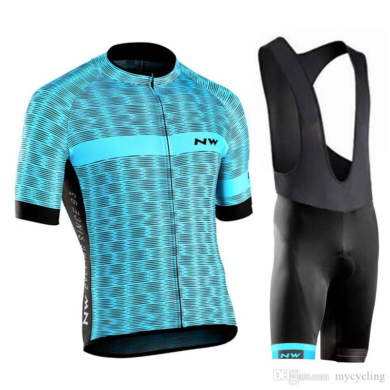 NEW Northwave 2018 Cycling Jersey Set Men NW Summer Racing Clothing Short  Sleeve Tops Bib Shorts Suit Mtb Bike Wear Maillot Ciclismo 120402Y Cheap  Cycling ... 552536676