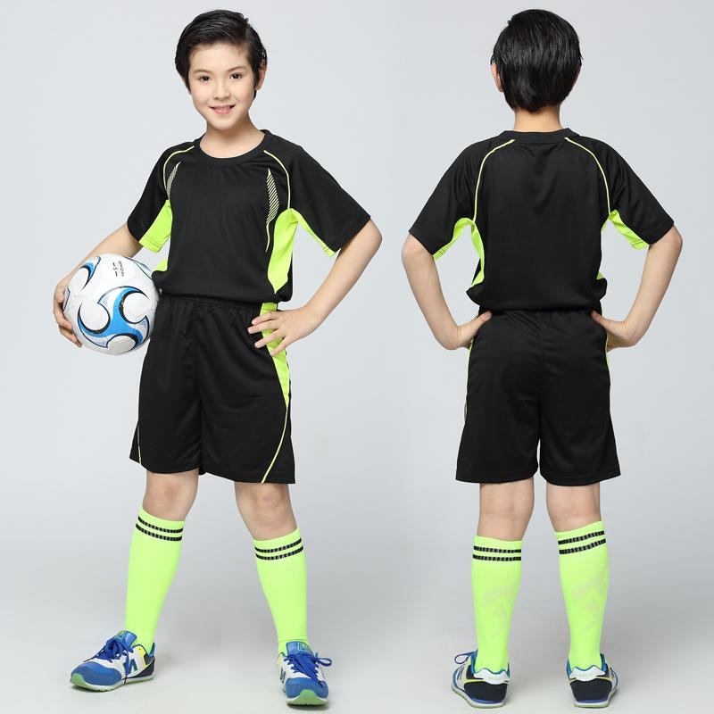 2019 New 2016 2017 Soccer Jerseys Uniforms Children Football Kit Shirt  Tracksuit Youth Kids Football Uniforms Sports Kit Training Set UK 2019 From  ... a39c17043