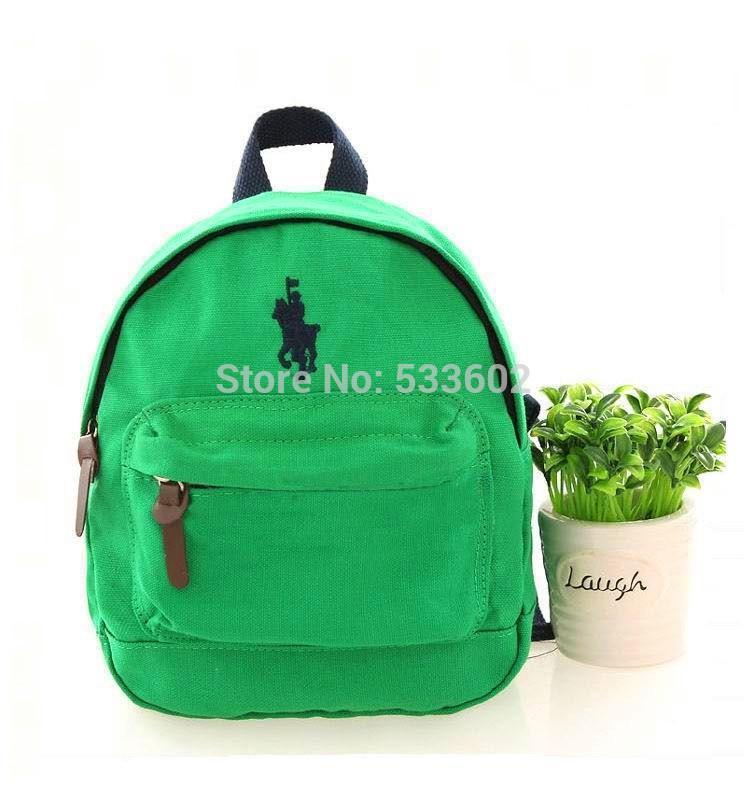 d83c197e1f11 Children Polo Bags Anti-lost Canvas Backpack Kids 100% Cotton Infantil High  Quality Satchel Online with  48.24 Piece on Permen s Store