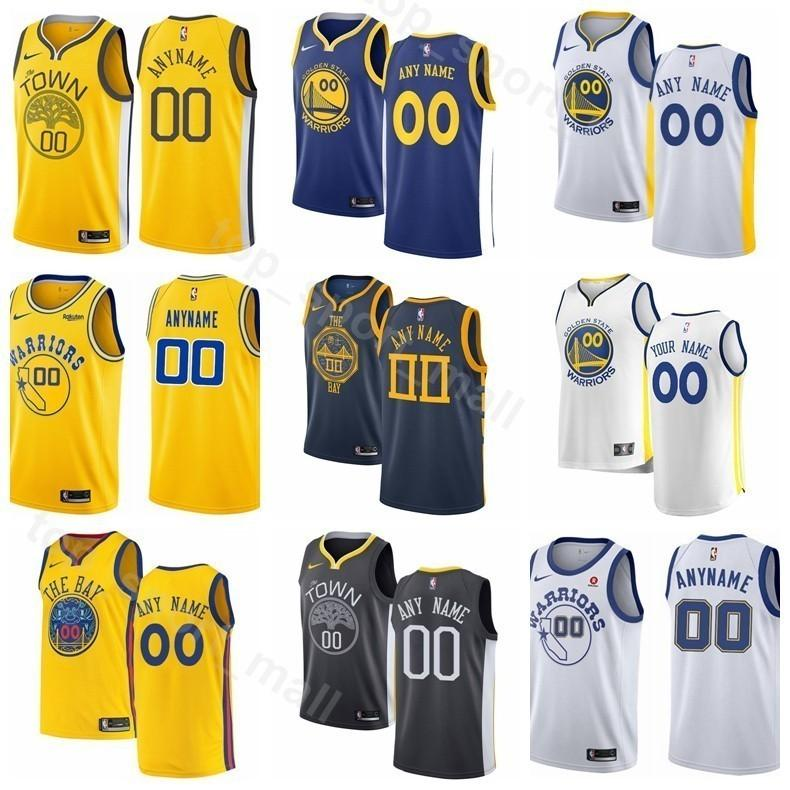 competitive price 6a102 1211c Printed Basketball Men Youth Women Warriors Stephen Curry Jersey 30 Kevin  Durant Klay 35 Thompson Draymond Green 23 DeMarcus Cousins 0