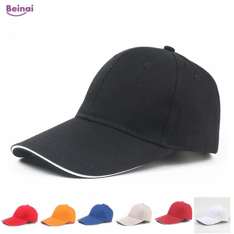 a158da6065d 2019 Beinai New Casual Cotton Sunshade Golf Caps Solid Hiking Hat Outdoor  Travel Sport Sun Hats Baseball Cap Beach Waterproof Cap From Kupaoliu