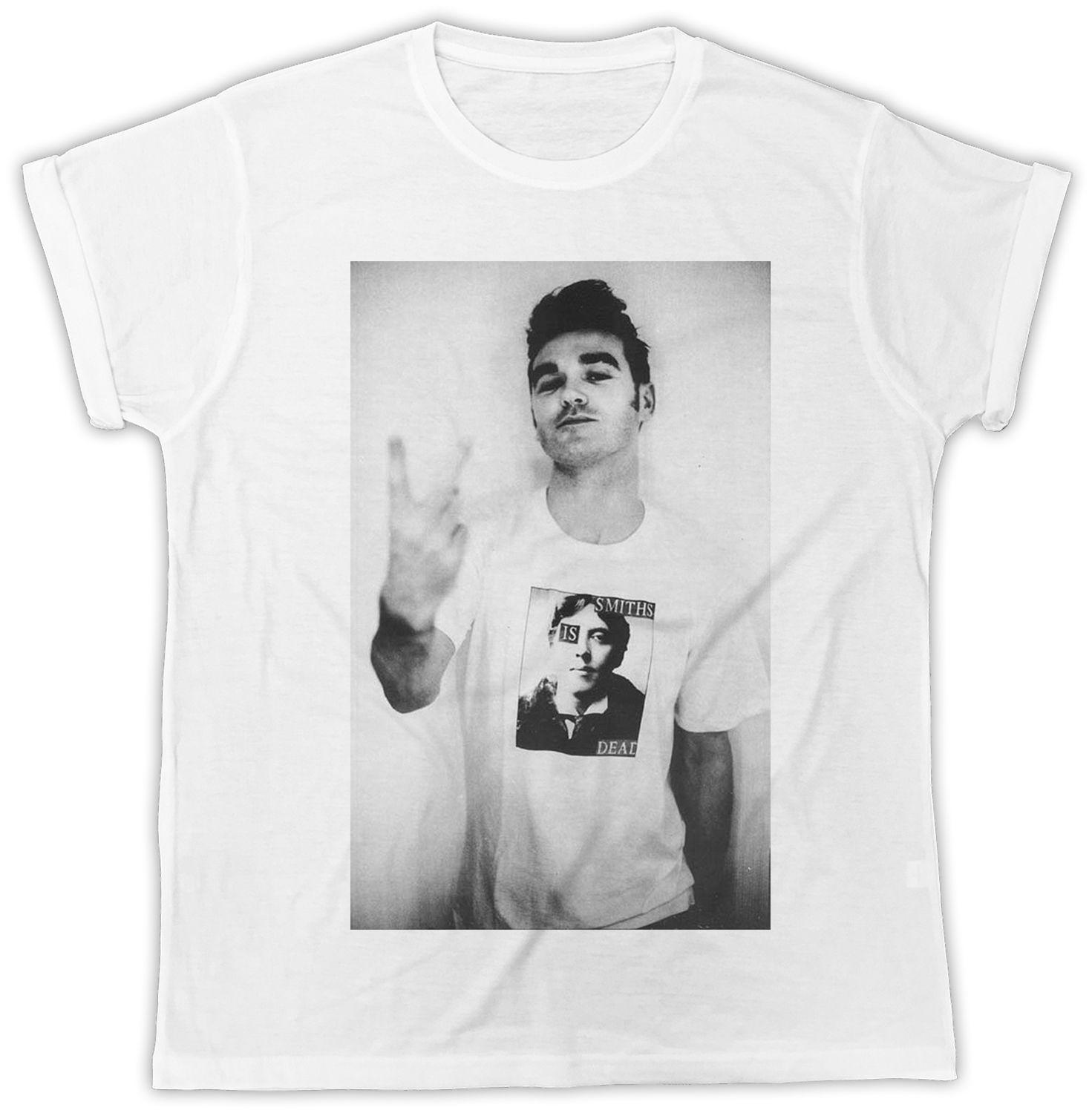 f5ee1358d THE SMITHS IS DEAD AS WORN BY MORRISSEY IDEAL GIFT UNISEX TSHIRT Summer O  Neck Tee, Cheap Tee Awesome T Shirt Design Shirt And Tshirt From Yp004, ...