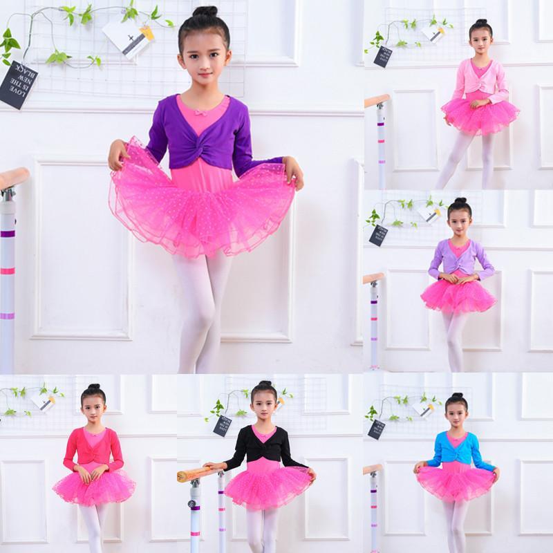 Acheter MUQGEW Vêtements Enfant Filles Gymnastique Justaucorps Danse  Vêtement Noël Ballet Formation Dancewear Crossover Wrap De  34.71 Du Laurul   71ac131e684