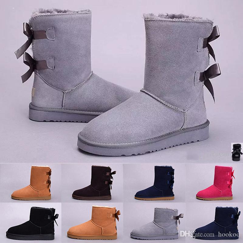 2fc2658789b812 UGG boot Adidas yeezy boost nmd supreme off white Hot Sale New WGG frauen  Australien Klassische hohe Stiefel Frauen mädchen stiefel Stiefel Schnee  Winter ...