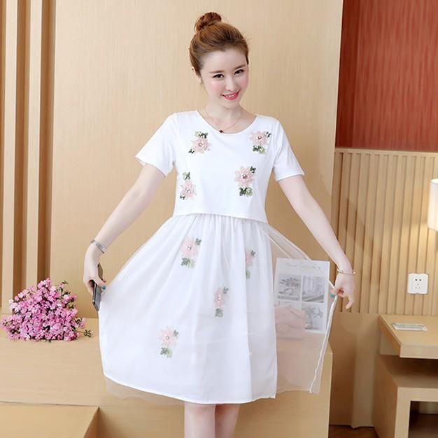 Maternity Nursing Dress Summer Breastfeeding Clothes for Pregnant Women Mum Breast Feeding Dresses Breastfeeding Mother clothes
