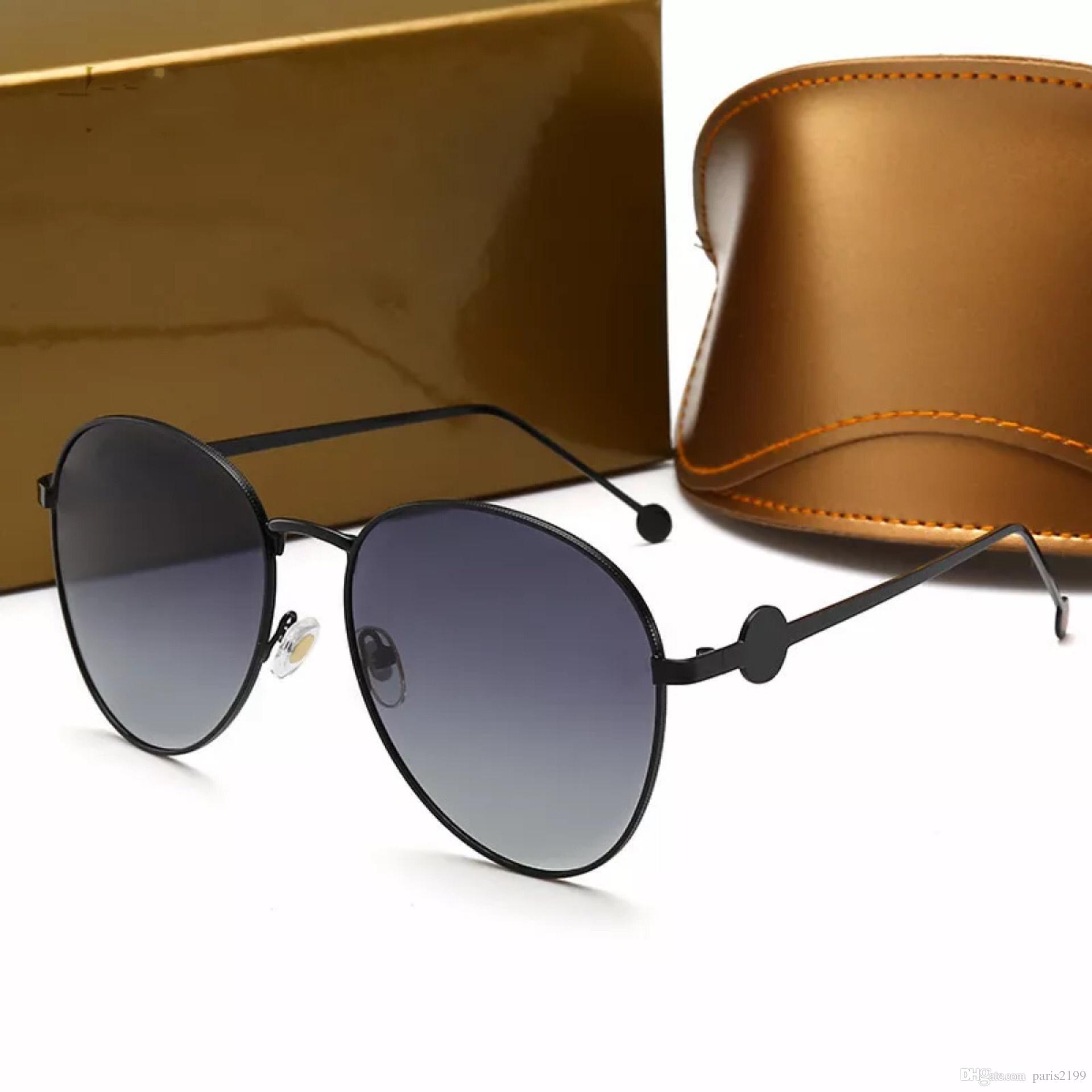 Gafas EyewearCaja 2019 Moda Diseñador Sol Shades Mujer Nuevas De Para Style Original Alta Calidad Vintage Polarizing Frame vmNwO80n