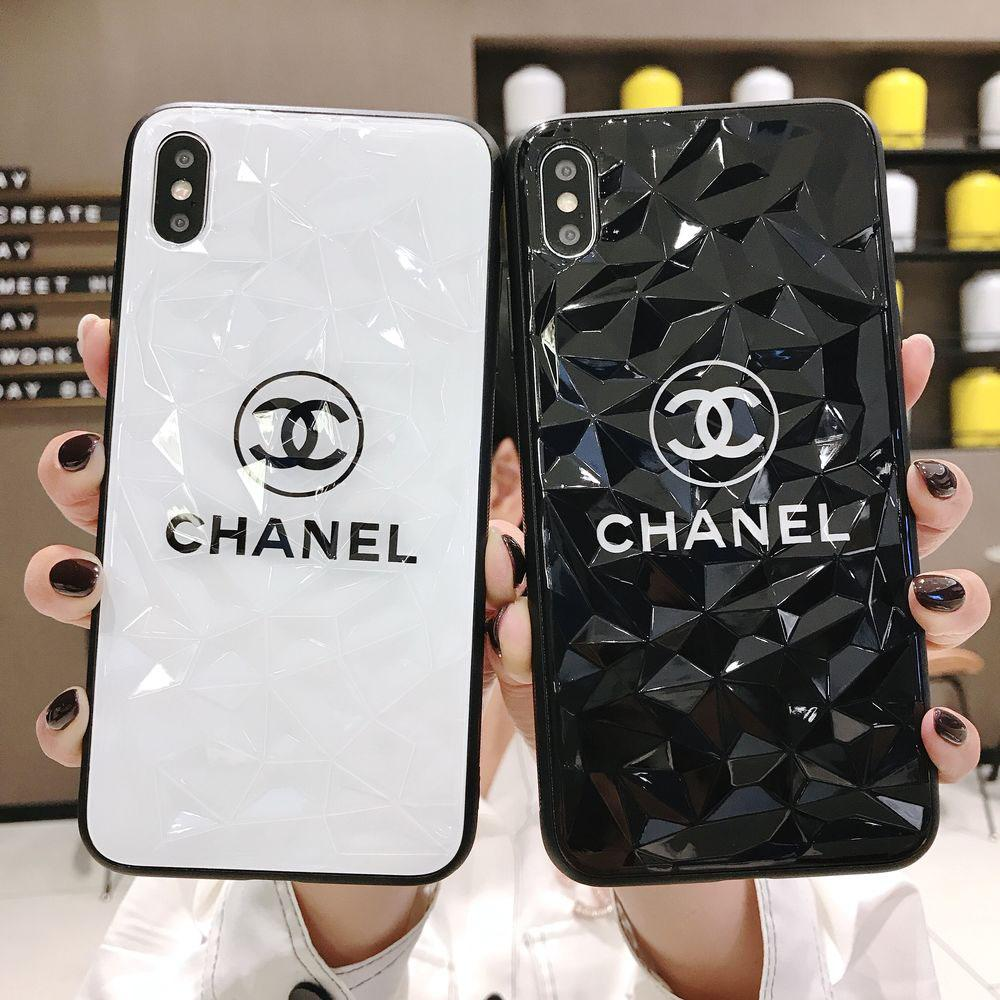 finest selection 16b0b a5a1f Brand Fashion Phone Case for iPhoneXSMAX XS XR X 7Plus/8Plus 7/8 6/6s  6p/6sp Popular Protective Back Cover Phone Case 2 Diamond Styles