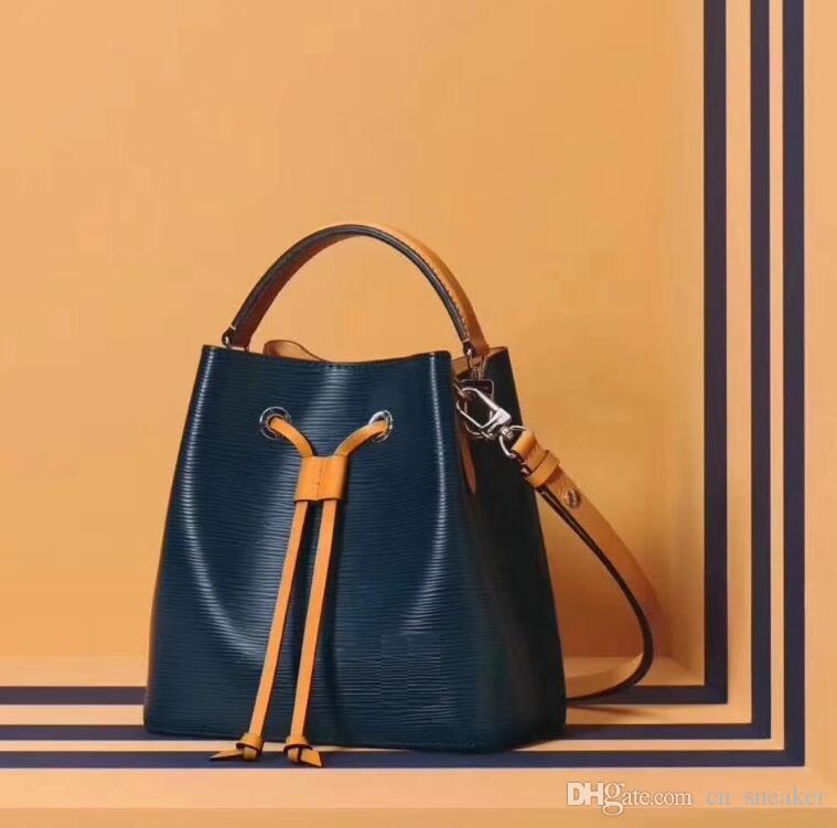 8d2288bb4c1 2019 Famous Brands Fashion Bags Designer Luxury Handbags Purses NEONOE  Shoulder Bags Noé Leather Bucket Bag Purse TWIST Handbag Cosmetic Cases From  ...