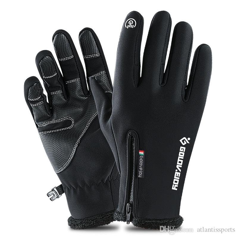 Adult Kids Touch Screen Ski Gloves Winter Fleece Windproof Snowboard Glove Snow Motorcycle Skiing Gloves For Ipad Mobile Phone Pretty And Colorful Tablet Accessories