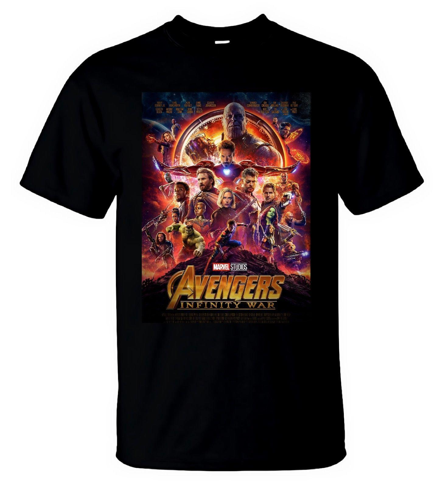 72ee5074f Marvel Avengers Infinity War T Shirt Gauntlet Thanos Captain America Men T  Shirt Cool Shirts Designs Pt Shirts From Designtshirts201806, $13.91|  DHgate.Com