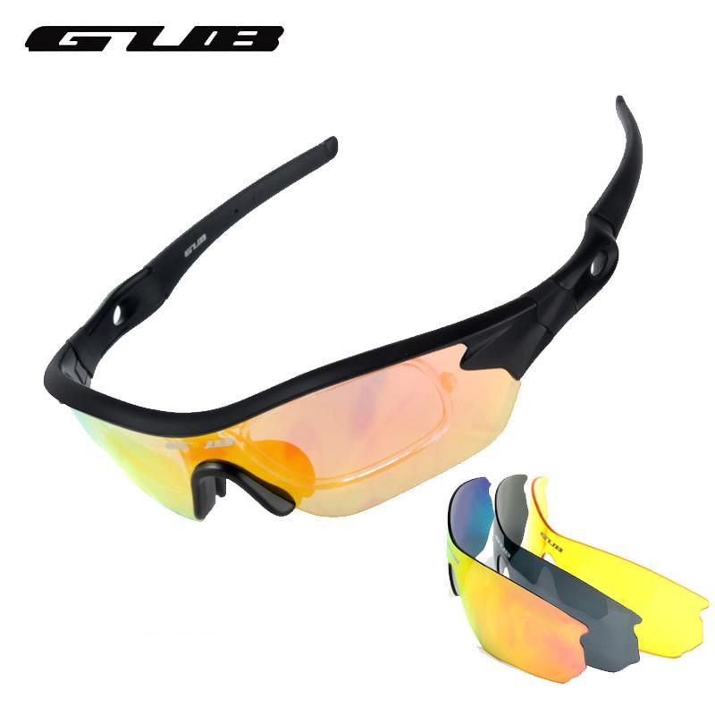 4ccf6c493f6c GUB New Men Women Cycling Sunglasses Goggle Polarized MTB Mountain ...