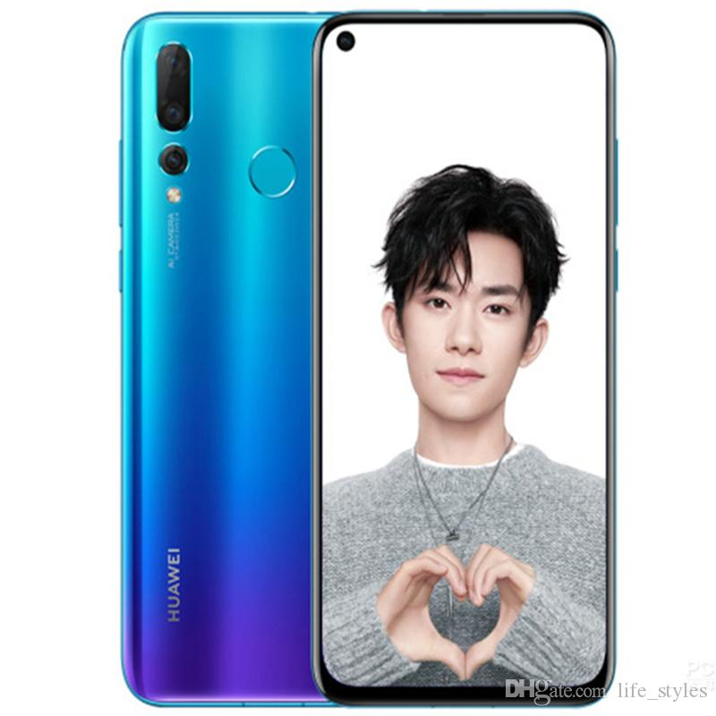 Huawei nove4 Smartphone Android 9.0 6G/8G RAM 128G ROM Kirin 970 Face ID 6.4'' Full View Screen Octa Core Mobile Phone