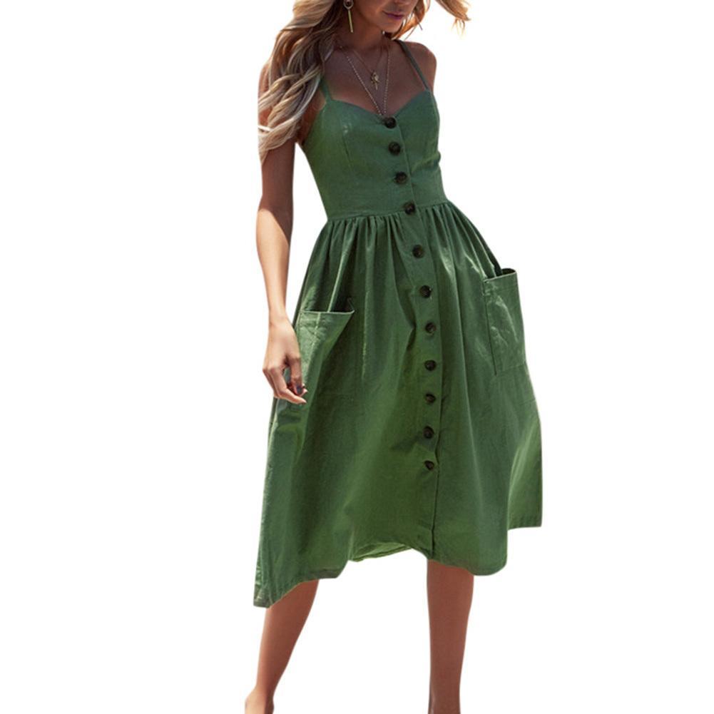 Plus Size Women Clothing Spaghetti Straps Sleeveless High Waist ...