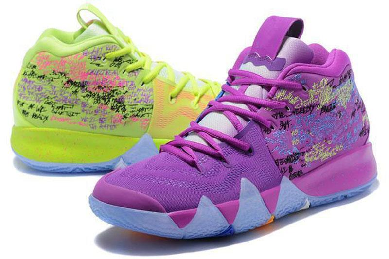best loved 31548 846b5 shoes big boys Kids Irving 4 IV Outdoor Shoes Womens Green 2019 Kyrie  Halloween Dotd Pe Day Of The Dead CTC Confetti Carpet girls Trainer