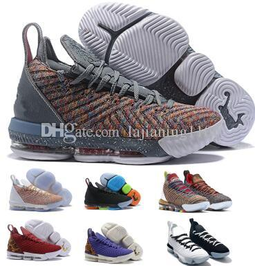b51f44939874 16 16s Basketball Shoes Sneakers Grey Equality Mik Lmtd I Promise Oreo 1  Thru 5 What The Bred 2019 Mens Man XVI Shoes Sneakers Online Shaq Shoes  From ...