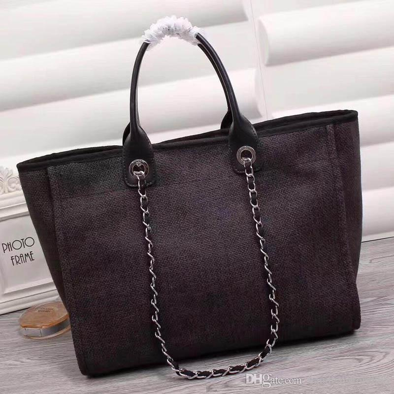 High quality Fashion women Famous large capacity tote bag handbags lady canvas bags ladies Genuine leather purse shoulder bag size 38cm