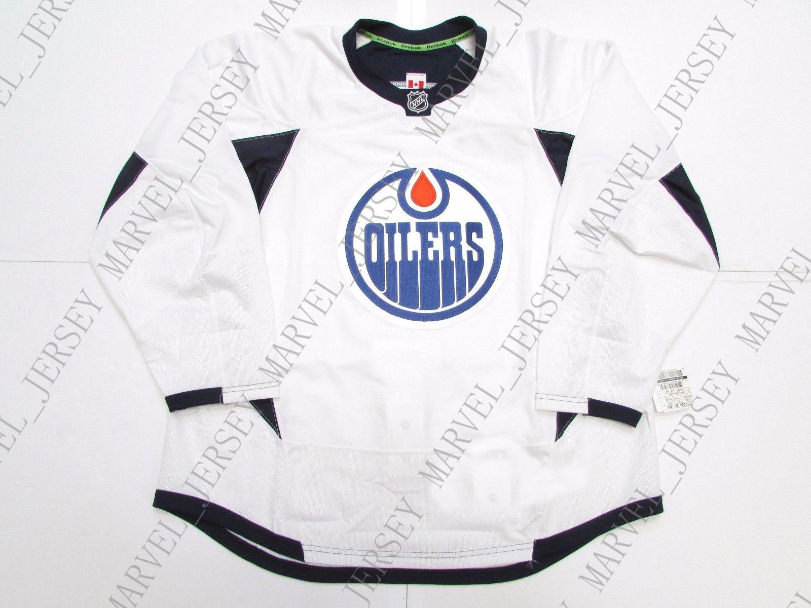 2019 Cheap Custom EDMONTON OILERS WHITE EDGE PRACTICE HOCKEY JERSEY Stitch  Add Any Number Any Name Mens Hockey Jersey XS 5XL From Marvel jersey 7f8d900d442