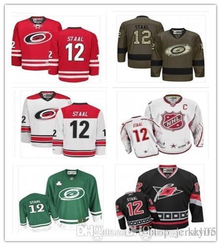 2019 2018 Carolina Hurricanes Jerseys  12 Eric Staal Jerseys Men WOMEN YOUTH Men S  Baseball Jersey Majestic Stitched Professional Sportswear From Kklife 9bae5059c