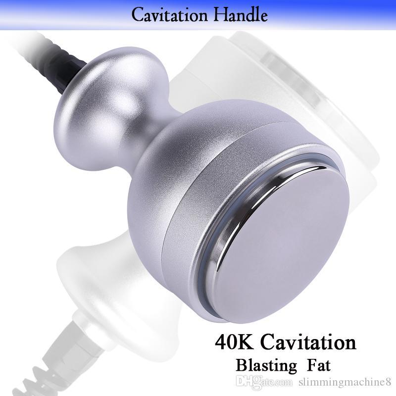 Salón de belleza Cavitación ultrasónica con chorro de grasa RF que adelgaza la máquina El más nuevo congelador de grasa máquina de lipolaser de reducción de grasa al vacío