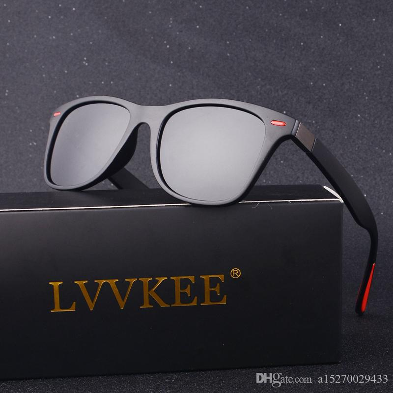 102098854ab 2019 Luxury LVVKEE Brand Classic Fashion Men Women Polarized ...