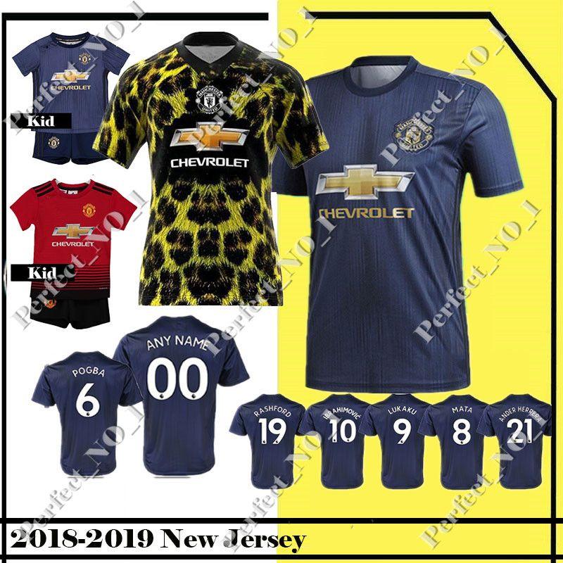 025f711d3b Venta Al Por Mayor Camiseta De Fútbol POGBA 7 ALEXIS 9 LUKAKU 11 MARCIAL 14  LINDELOF 19 RASHFORD 22 MKHITARYAN 2019 Hombre Niños Camiseta De Fútbol Por  ...