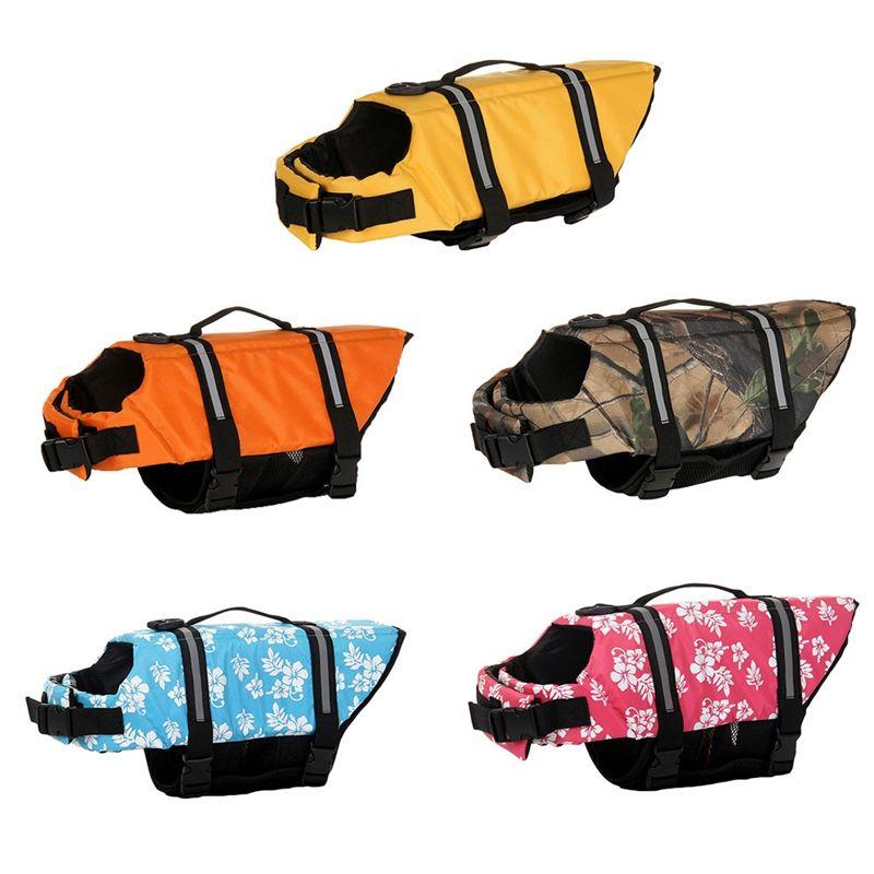 5641e25af Compre Chaqueta Salvavidas Para Perros Chaleco Salvavidas Para Mascotas  Chaleco Salvavidas Para La Natación Perro Perrito Traje De Baño Surf  Chaleco De ...