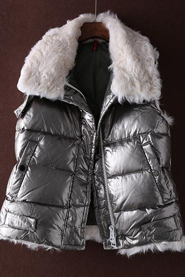 6d71099010a 2019 2018 New 90%Goose Down Real Lamb Fur Feather Vest Female From Jerkin,  $120.95 | DHgate.Com