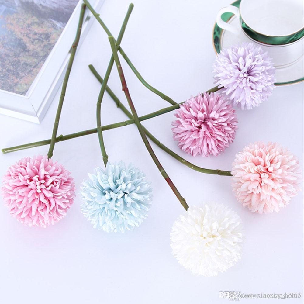 1pc silk daisy flower silk flower simulation DIY handmade cloth flowers small daisy flower chrysanthemum sunflower head