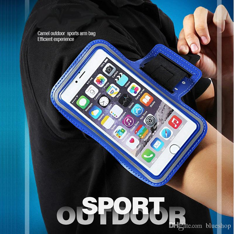 Mobile Phone Accessories Shockproof Phone Holder Bag Outdoor Sports Key Jogging Waterproof Gym Protect Running Exercise Cycling Armband Case Lightweight Cellphones & Telecommunications