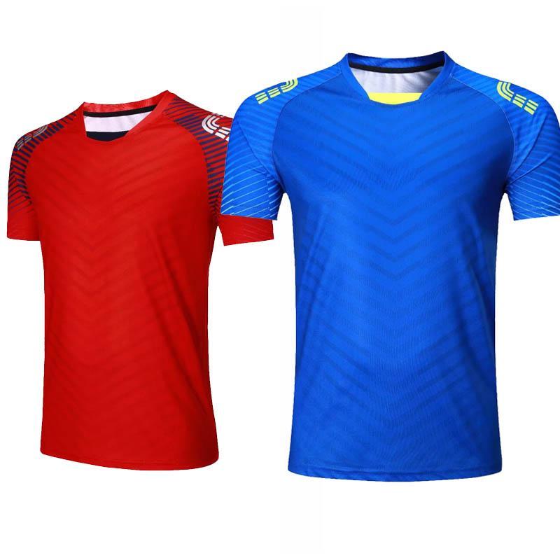 Maillot de tennis pour hommes Vêtements de sport en plein air Running T shirt Vêtements de sport Badminton Maillots de football à séchage rapide GYM