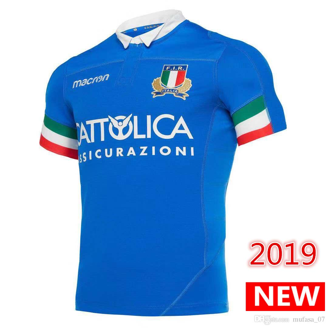 reputable site 94c31 54f14 Newest 2019 2020 ITALIA home away Rugby Jerseys FIR shirt ITALIA national  team Italy League jersey S-3XL free shipping