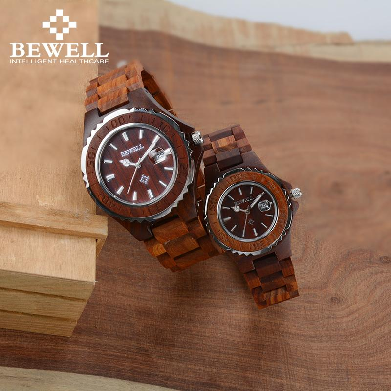 09dfc4c1914 Wooden Lover Couple Watches Luxury Couple Clocks As Gift For Sweetheart  Lovers Friends With Calendar Lumious Dual Watches 100BC Watchs Sport Watches  From ...