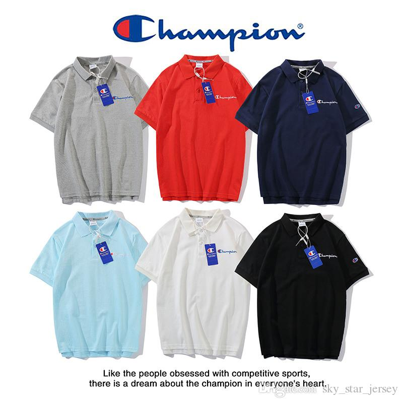 6944f99a 2019 Champions Polo Shirt Mens Designers T Shirt Classic C Logo Stitched  Tshirt 2019 Spring Summer Trend Fashion From Sky_star_jersey, $35.1 |  DHgate.Com