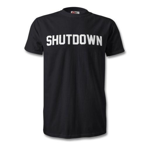SKEPTA SHUTDOWN Print T Shirt White Black Grime Unisex Logo Novelty  Short-Sleeve Funny Classical Top Tee new 2018 Summer Fashion