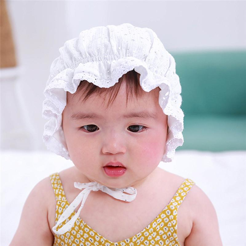 30b57f87 2019 2019 Brand New Baby Girl Lace Princess Hat Baby Summer Hat Cap Newborn  Beanie Girl Ruffle Sequins Photography Props From Jamani3, $35.08 |  DHgate.Com